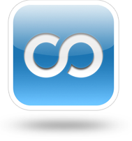 Cocoon icon floating